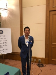 金子豊久ゴルフ部会長