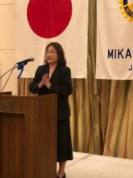 卓話者:社会福祉法人ポテト福祉会施設長 黒川久美子様
