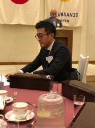 ビジター :長瀬達三様(高山西RC、健栄住宅商事(株)専務取締役)